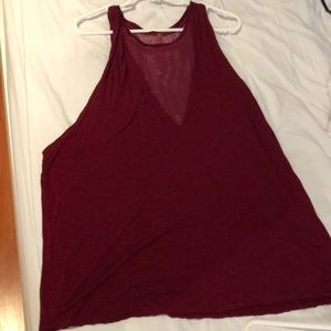 LF Maroon Dress/tee